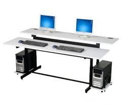 Kangaroo Standing Desk Imac by Computer Desk For Two Monitors Lovely Brilliant Puter Regarding
