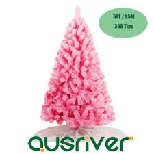 Image Is Loading 5ft 1 5M Pink Christmas Tree Home Office