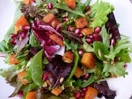 Roasted Hulled Pumpkin Seeds by Butternut Squash Salad With Pomegranates And Toasted Pumpkin Seeds
