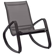 Traveler Rocking Outdoor Patio Mesh Sling Lounge Chair ...