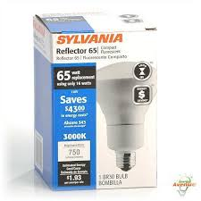 Self Ballasted Lamp 61y6 by Sylvania 29590 Cf16el Br30 830 Compact Fluorescent Light Bulb 16