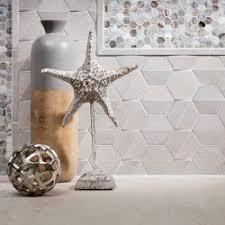 lunada bay glass mosaic and ceramic wall tile shinju crest shinju