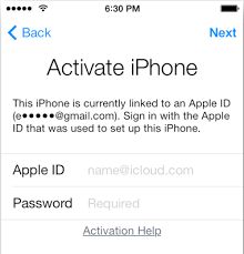 ios How to activate a used iPhone bound to another account