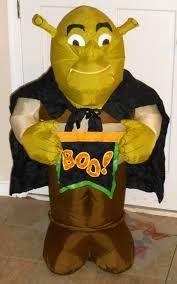 Disney Halloween Airblown Inflatables by Shrek 2 Airblown Fan Inflatable Ogre Boo Halloween Vampire Gemmy