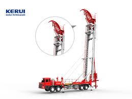 Kerui Petroleum Unveils Derrick-Style Coiled Tubing Truck - Helping ... Used Digger Derricks Drill Trucks For Sale At Big Truck 2009 Intertional 7400 Digger Derrick Truck Item L5580 1997 4700 Derrick For Sale Sold 1998 4900 Db0371 D105 Elliott Equipment Intertional Digger Derrick Truck For Sale 1196 Sold 2005 Gmc C8500 Crane In Columbia 2000 Freightliner Fl80 Vinsn Altec Db35 Backyard K0007 Cassone And Ford F700 De3626 Sold Ma