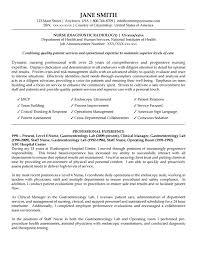 Nurse Diagnostic Radiology Resume