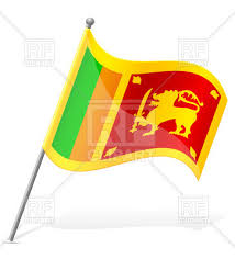 Wavy Flag Of Sri Lanka 38593 Download Royalty Free Vector Image
