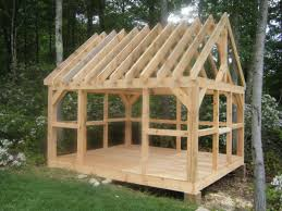 Free 12x16 Gambrel Shed Material List by Free Storage Shed Plans 8x12 12x16 Gambrel Kit Small