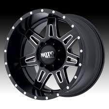 100 Skull Truck Rims Moto Metal MO975 Satin Black Milled Custom Wheels Moto Metal
