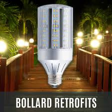 Satco Led Corn Lamps by Led Transforming Light Led For Hid Retrofit Lamps Commercial