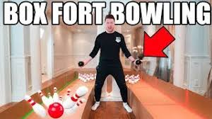 DIY Cardboard Bowling Game