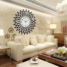 Living Room Wall Clocks Elegant Large Clock Decor Ideas Home