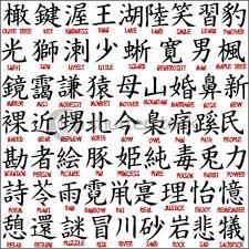 Small Chinese Tattoo Symbols On Back Neck Tattooeve