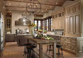 shaped pendant ls with rustic kitchen island design for