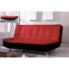 kebo futon sofa bed multiple colors color red memsaheb net