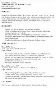 Resume For Internal Promotion Luxury Sample Legal Beautiful Objective Examples