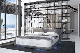 boxspringbett 180x200cm led weiß grau günstig möbel küchen büromöbel kaufen froschkönig24