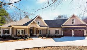 100 Garage House Craftsman Plan With Angled 36031DK Architectural