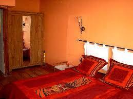 chambre style africain le lit de la chambre africaine