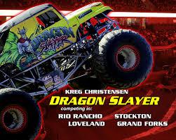 100 Snake Bite Monster Truck Kreg Christensen And DRAGON SLAYER To Compete In Select TMT Events