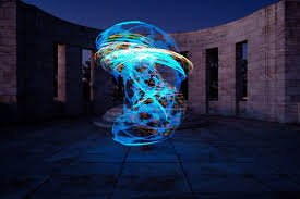 How to Create Beautiful Light Painting With an Illuminated Hoop
