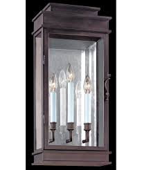 troy lighting b2973 vintage 11 inch wide 3 light outdoor wall