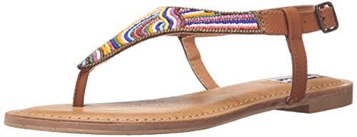 Not Rated Santo Women US 8.5 Tan Thong Sandal