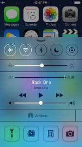 What s New in iOS 7 Control Center [Video] iClarified
