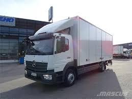 Used Mercedes-Benz -atego-1224l-ksa-kori Box Trucks Year: 2016 Price ...
