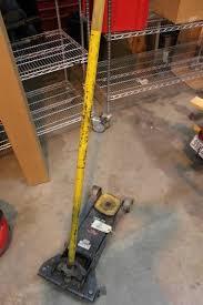 pro lift floor jack property room