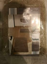 badezimmergarnitur in beige 3 tlg