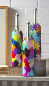 Decorative Wine Bottles With Lights by Wine Bottle Decor Peeinn Com
