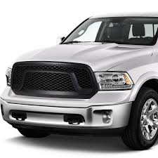 For 13-17 Ram 1500 ABS Plastic OE-Style Rebel Front Grille (Black ... For 9402 Dodge Ram Diamond Mesh Front Upper Bumper Grille Guard 10 Modifications And Upgrades Every New Ram 1500 Owner Should Buy 0205 Hs Polished Stainless Spiderweb Insert Status Grill Custom Truck Accsories Pu All Models Billet 1 Pc Full Custcargrillscom Car Grills Mopar 5uq43rxfab Rebel 32018 Install New Grill In 2500 Laramie Youtube Steelcraft 502260 23500 02018 0305 3500 Black