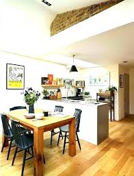 Kitchen Living Room Extension Ideas Design Diner Small