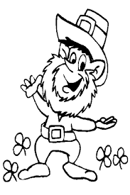 Free Images Coloring Leprechaun Pages To Print On Picture 25 Kids