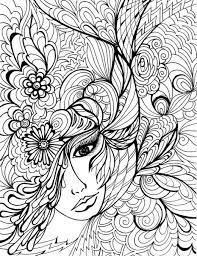 Innovative Ideas Free Coloring Pages For Adults Printable Hard To Color Colourspic Com Provides Awesome Collection