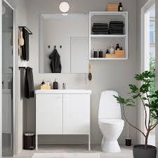 enhet tvällen badezimmer set 11 tlg weiß pilkån