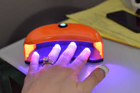 Sally Hansen Led Lamp by Diy French Tip Gel Shellac Nails Warfieldfamily