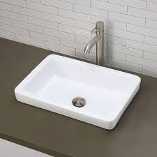 Square Bathroom Sinks Home Depot by Best 25 Rectangular Bathroom Sinks Ideas On Pinterest Sink With