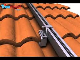trinamount i for tiled roofs installation