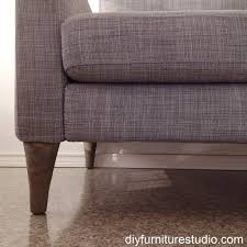 Karlstad Sofa New Legs by Diy Cement Replacement Sofa Legs For Ikea And Other Brands U2013 Diy
