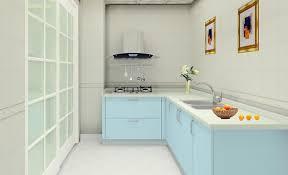 fantatsic light brown kitchen cabinet color gray blue walls