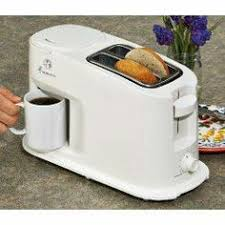 Space Saver Coffee Maker Toaster Combo