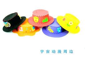 Craft Parties Handmade Design 4 Hat For Children Kids And Child Color Paper Art Diy