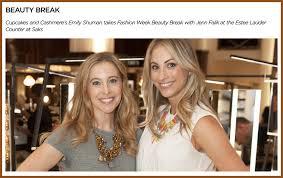 Emily Schuman Of Cupcakes And Cashmere Talk Beauty With Jenn Falik