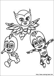 Free PDF Download Of PJ Masks Coloring Pages