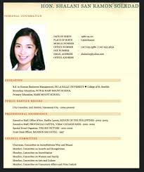 Sample Resume Personal Information For Fresh Nursing Graduates In The Curriculum Vitae