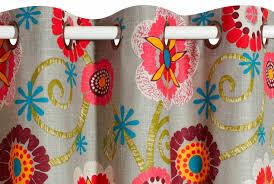 tissu pour rideaux à motif en coton en