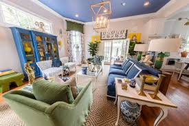 Southern Living Traditional Living Rooms by Inside Traditional Home U0027s Southern Style House Open Now In New