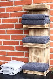 dekorie badregal bad handtuchhalter schmal handtuch regal